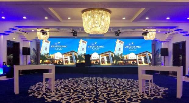 VILA VITA PARC instalou ecrã LED de alta em resolução