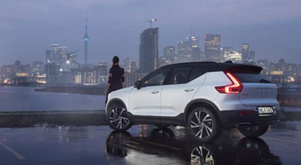 O novo XC40 da Volvo já atingiu as 20.000 reservas