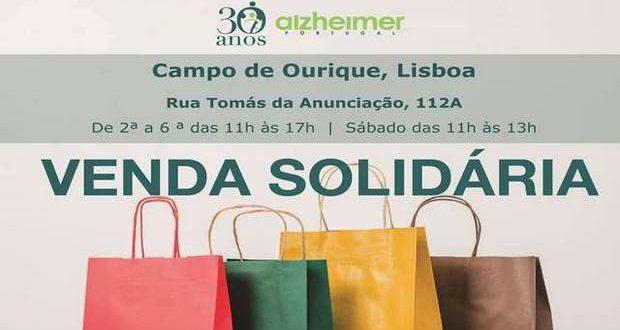 Venda Solidária da Alzheimer Portugal em Campo de Ourique
