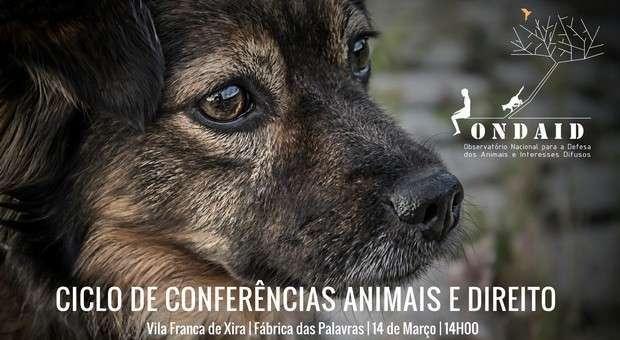 Conferência Animais e Direito em Vila Franca de Xira