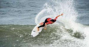 Surfista Teresa Bonvalot em 5º lugar na Austrália