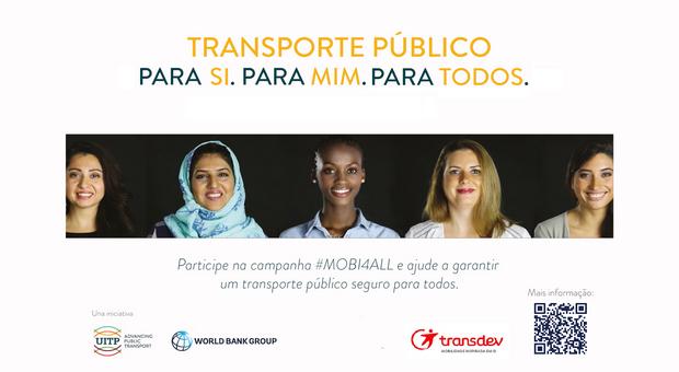 Campanha Mundial contra Assédio nos Transportes Públicos