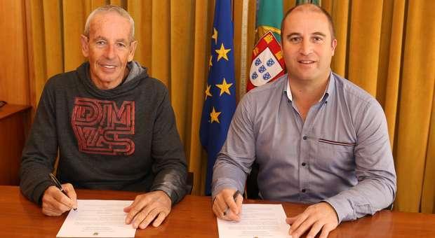 Vila do Bispo apoia o atleta de Triatlo Fernando Damas