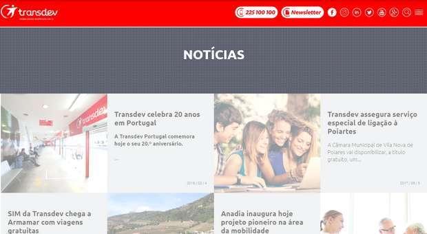 Transdev Portugal lança nova plataforma na internet