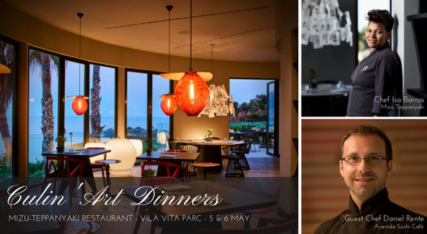 VILA VITA Parc anuncia os Culin'Art Dinners, 2018