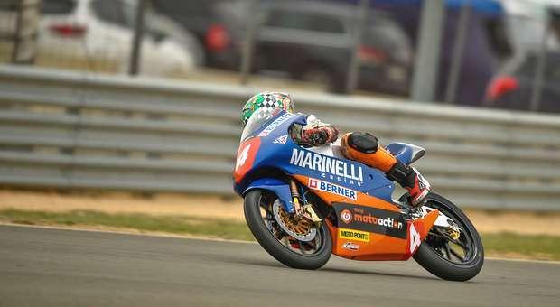 Kiko Maria pontuou no circuito de Albacete em Pré-Moto3
