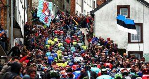 A Clássica Liège-Bastogne-Liège no Eurosport