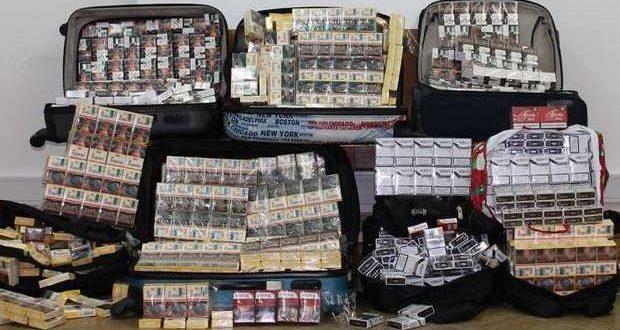 Unidade Fiscal da GNR apreende milhares de cigarros