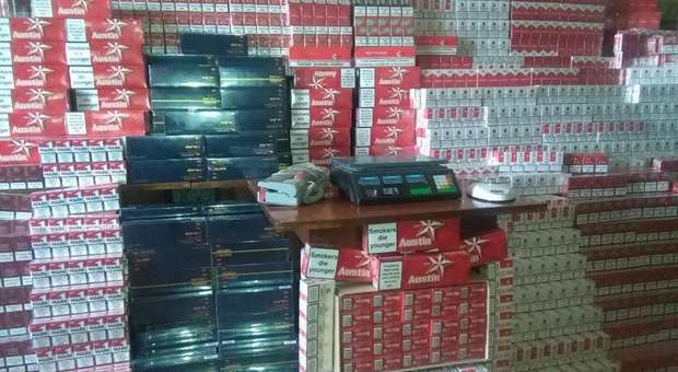 GNR desmantela fábrica de embalamento de tabaco ilegal