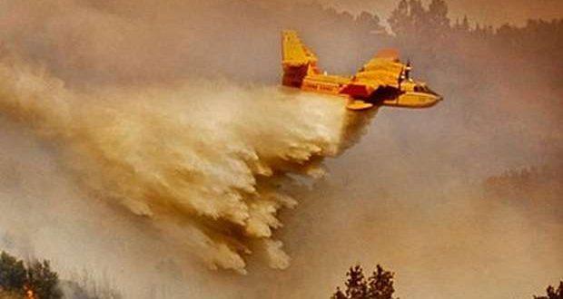 Dispositivo de combate a incêndios conta com 45 meios aéreos