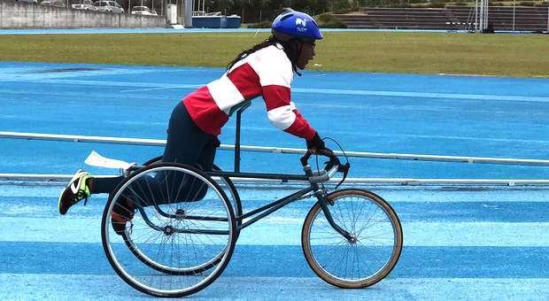 Sandra Semedo da APCC revalidou títulos nacionais em tricicleta
