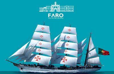 Navio Escola Sagres em Faro de 05 a 08 de Setembro