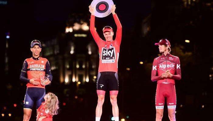 Vuelta a España no Eurosport de 25 de agosto a 16 de setembro
