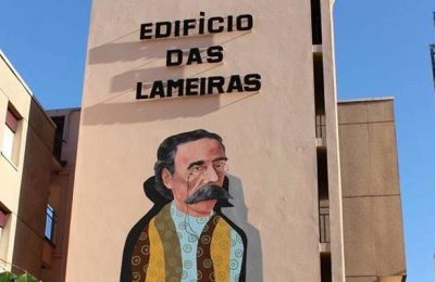 Arte urbana converte as Torres Lameiras em V.N. Famalicão