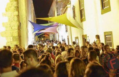 Festival F na zona histórica de Vila Adentro em Faro