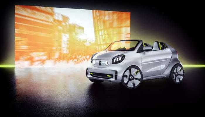 Smart apresenta novo concept car no Salão de Paris