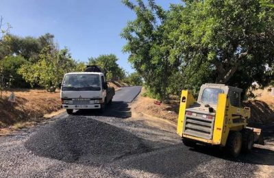 Estradas Muncipais reabilitadas em São Brás de Alportel