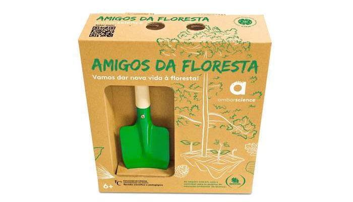 """Novo kit didático e solidário """"Amigos da Floresta"""""""