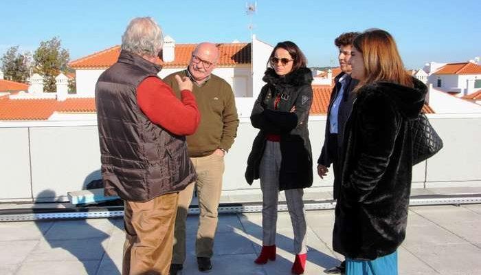Visita à obra do Novo Lar e Centro de Dia de Altura