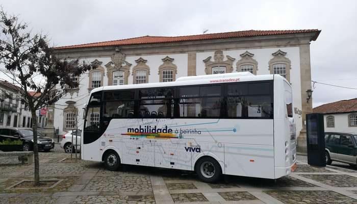 Moimenta da Beira tem nova rede de transporte público