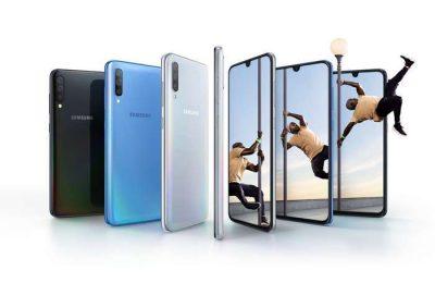 Galaxy A70 da Samsung melhora a interação do utilizador