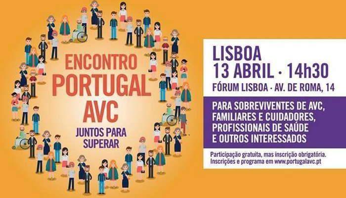 Encontro Portugal AVC no próximo dia 13 de abril em Lisboa