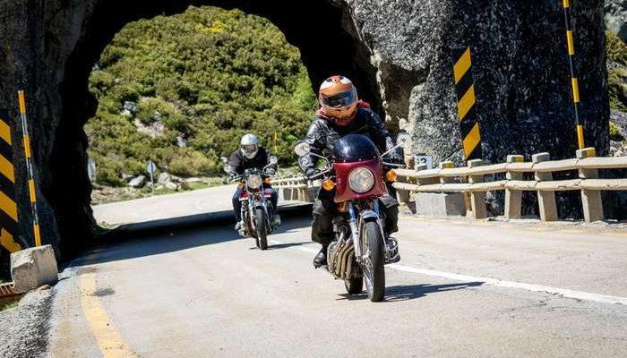 Recorde de Motos Clássicas e participantes no Rider