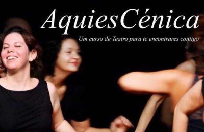 """Curso de Teatro """"AquiesCénica"""" por Luana Proença"""