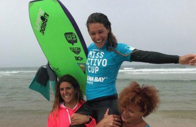 Isabela Sousa rlidera o circuito europeu de Bodyboard