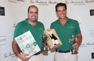 Tomás Moreno e António Mendonça Alves, foram os vencedores da Taça Presidente da República em Golfe, que se disputou no sábado (7), no Belas Clube de Campo.