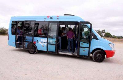 Viagens gratis no Circuito urbano do Pinhal Novo