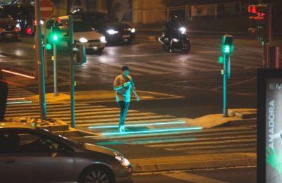 Amadora instala o sistema smartcross nas passadeiras