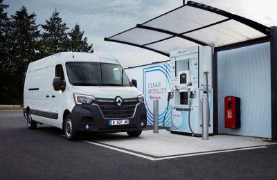 Novos Renault comerciais eletricos Hydrogen