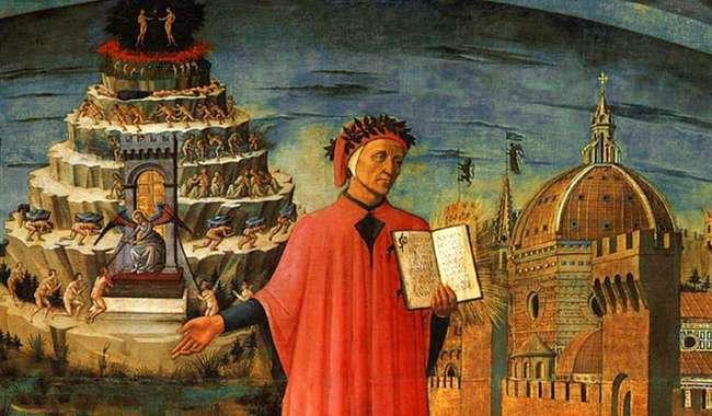 Resultado de imagem para A divina comédia, Dante Alighieri