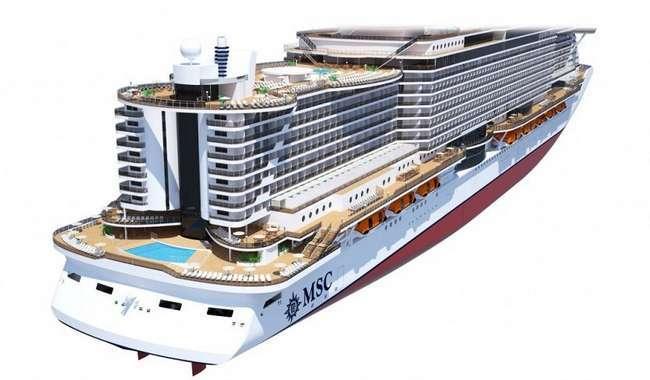 Samsung equipa os novos navios MSC Meraviglia e MSC Seaside