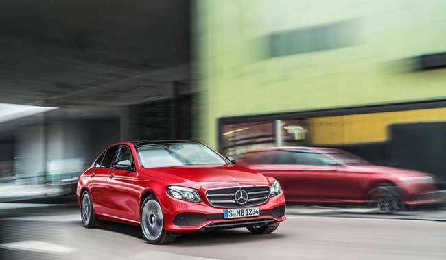 Novo Classe E da Mercedes Benz, chega em Abril