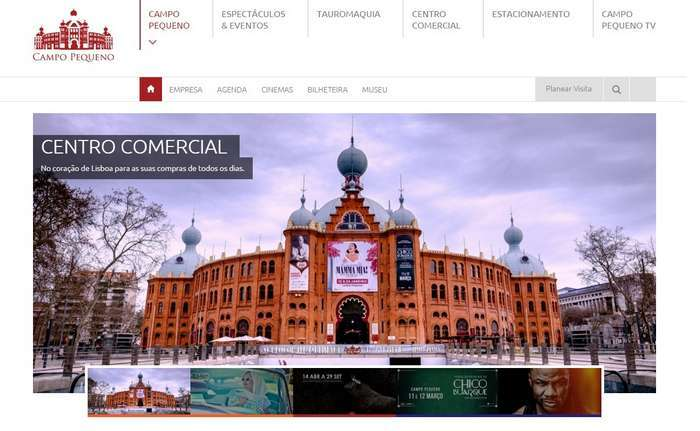 Campo Pequeno lança novo website mais intuitivo e atualizado!