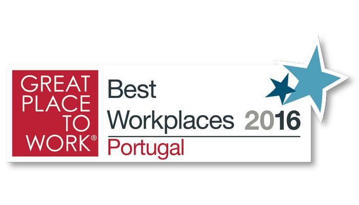 Empresas premiadas no Great Place to Work Portugal em 2016!