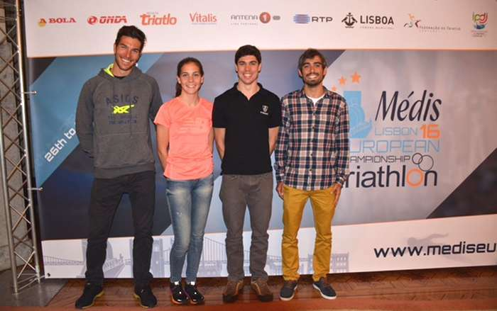 Portugueses na primeira etapa da World Triathlon Series