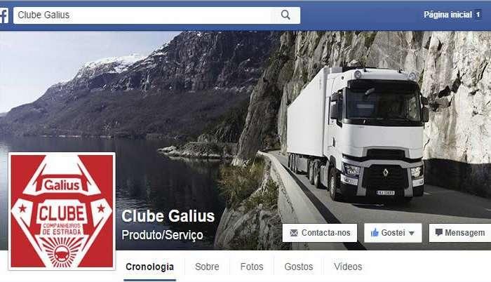 """""""Clube Galius – Companheiros da Estrada"""""""