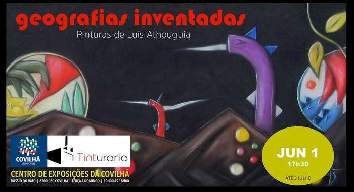 Luís Athouguia expõe no Centro de Exposições da Covilhã
