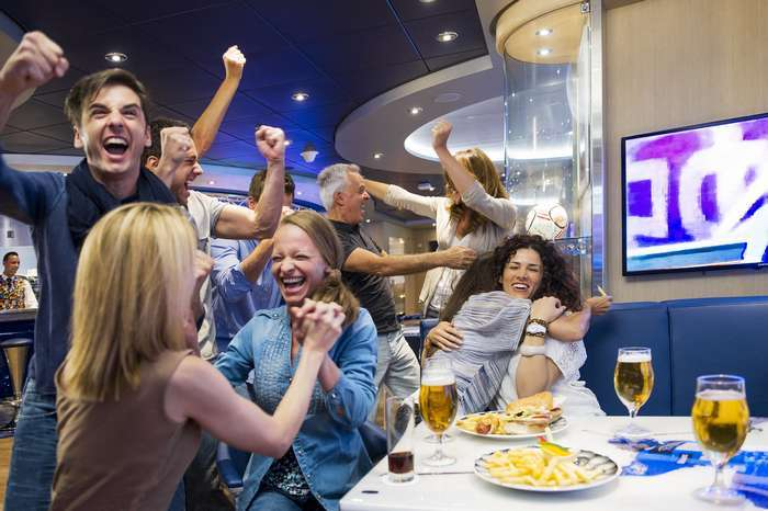Euro e Jogos Olímpicos em direto nos navios da MSC Cruzeiros