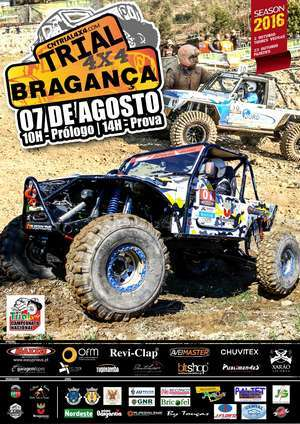 Trial 4x4 em Bragança