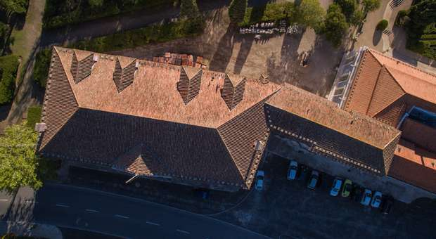 Parques de Sintra recupera coberturas no Palácio de Queluz