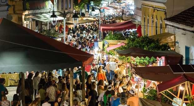 Milhares de visitantes nos Dias Medievais em Castro Marim