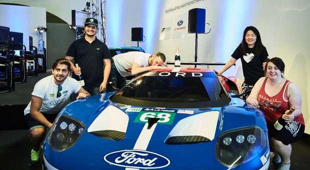 Cinco 'Gamers' batem recorde Guinness Le Mans 48 Horas
