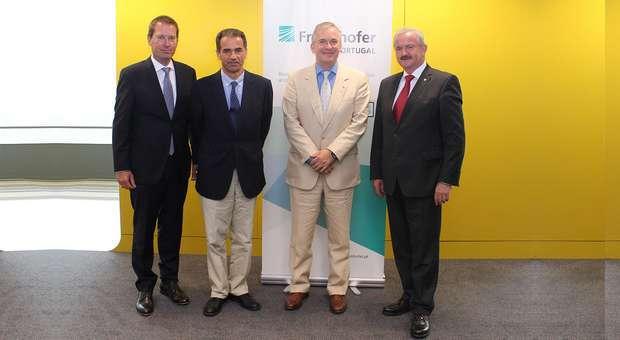 Presidente da Fraunhofer-Gesellschaft visitou Portugal