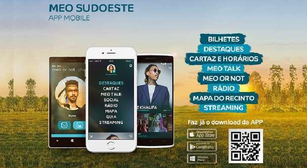 app MEO Sudoeste já está disponível para download