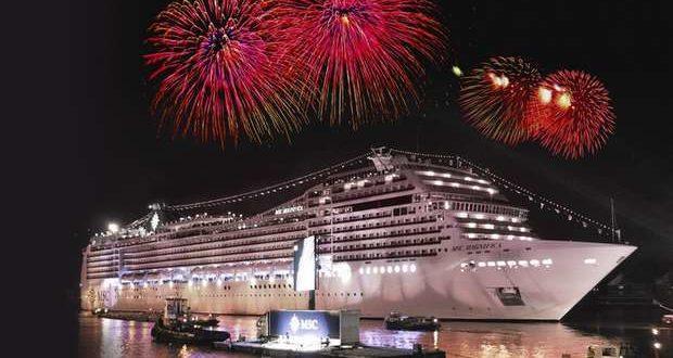 Natal e Fim de Ano a bordo de um navio Cruzeiro
