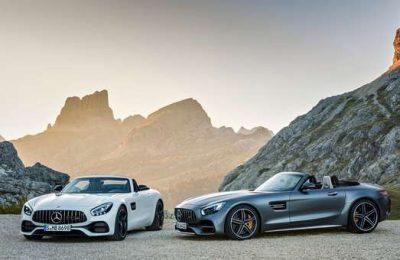 Novos Mercedes-AMG GT Roadster e AMG GT C Roadster